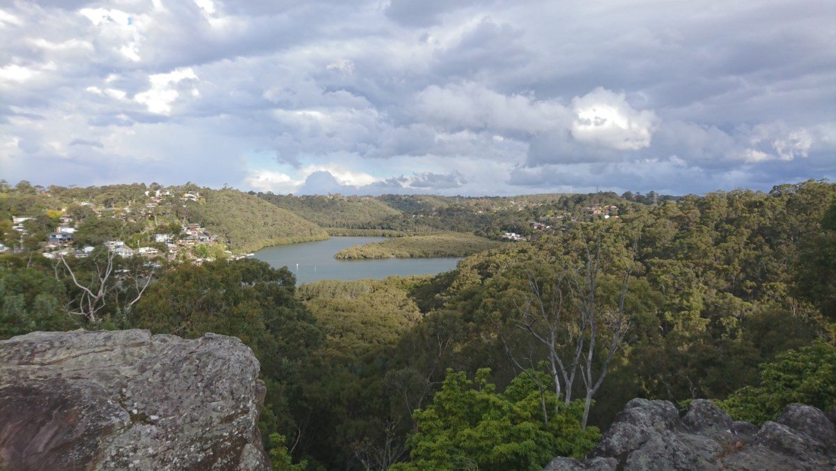 Overlooking the Woronora